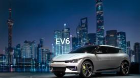 기아, 젊은 이미지와 높은 기술력으로 '2021 상하이 국제 모터쇼\' 에서 EV6 공개