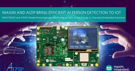 맥심, 아이집(Aizip)의 초소형 AI 모델과의 결합